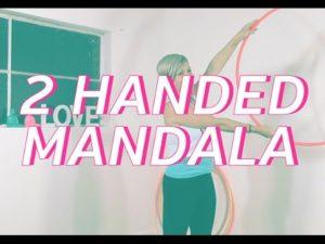 2ハンドマンダラで肩胛骨をはがせ!【フープエクササイズ・お正月チャレンジ2019】