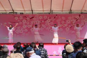 カラフル・フープダンスパフォーマンス!桜まつり出演レポ