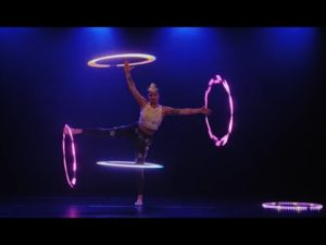 サーカスフープ&フープダンス【Lila Chupa-Hoops|LED * Hula-hoop* ACT】